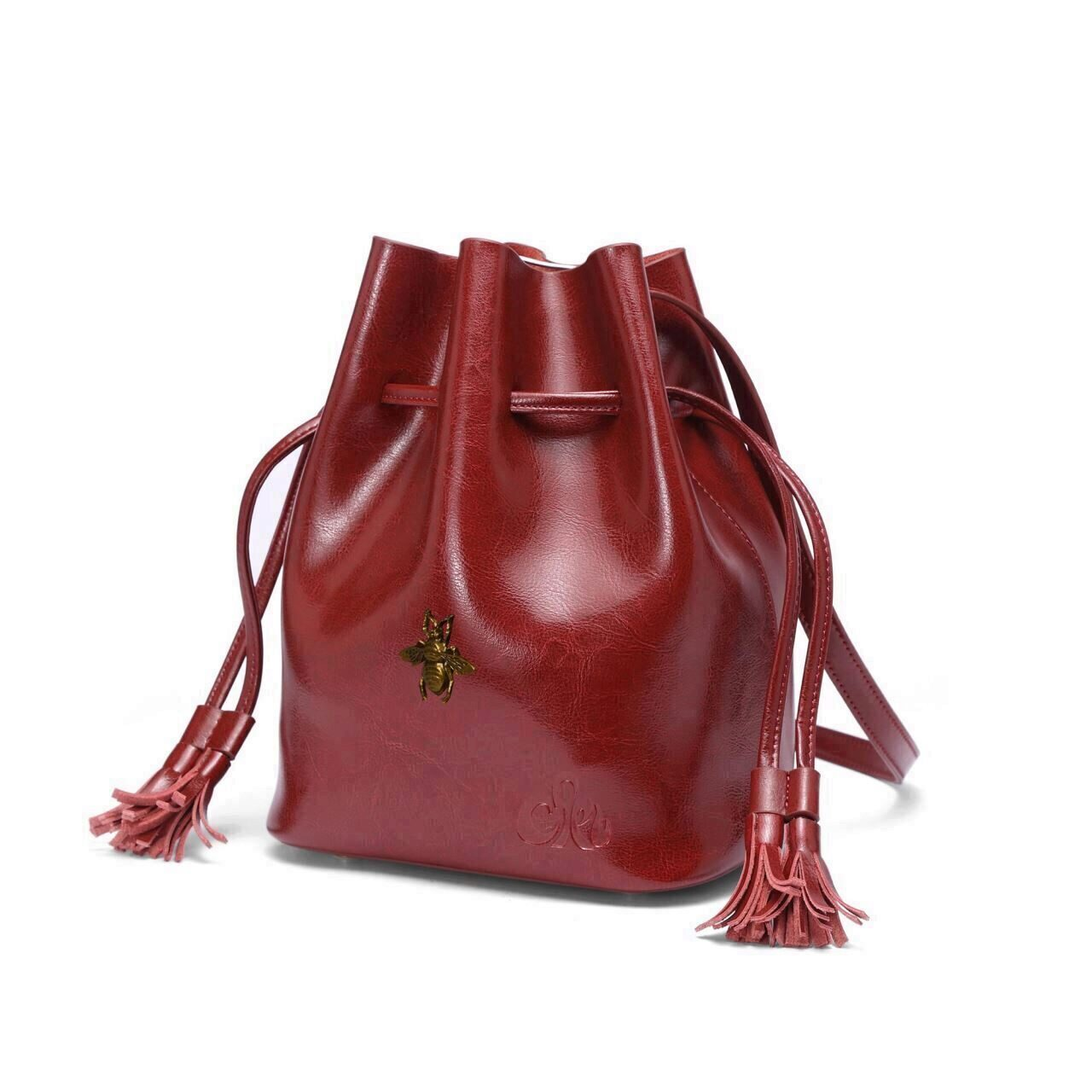 C Iel Candy Wine Red Bucket Bag Ciel Bags