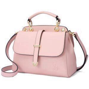 f62ce64272812 C iel Callie pink double satchel bag