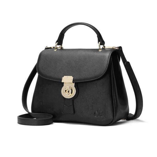 ee41e863dcf65 Product  C iel Aria black saffiano bag